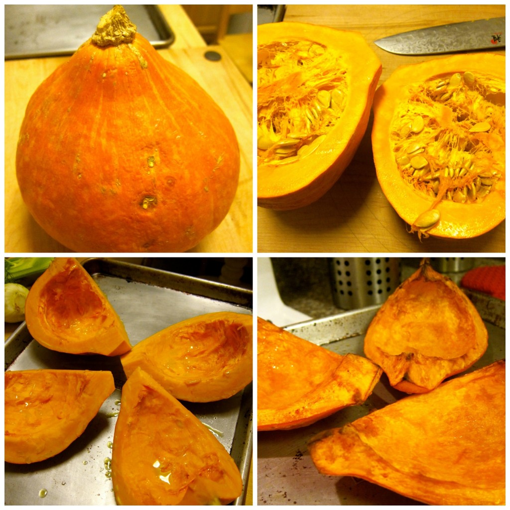 Prep and roast the squash.